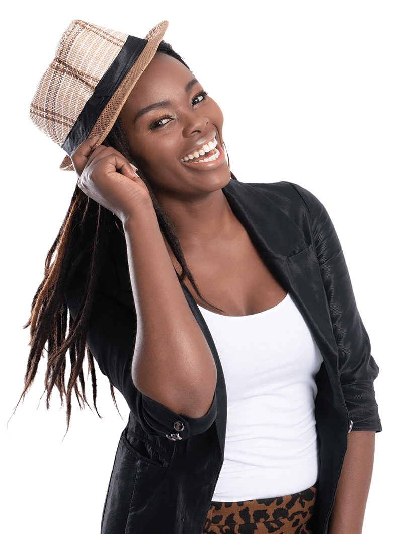 fashionable-young-beautiful-african-woman-with-posing-black-leather-jacket